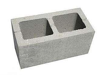 Bloco de concreto a vista