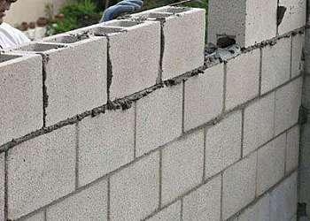 Bloco de concreto para muro