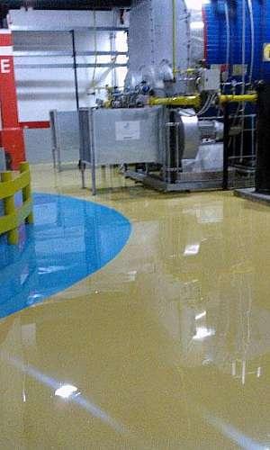 Epóxi para piso de concreto