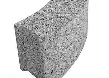 Fornecedor de bloco de concreto curvo
