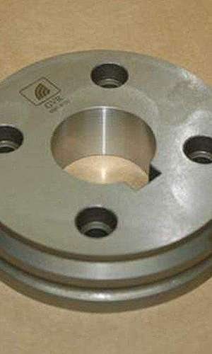 Peças usinadas em CNC