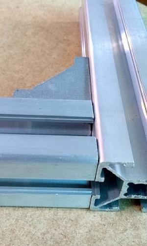 Perfil alumínio estrutural 40x40