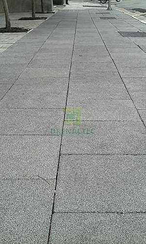 Piso permeavel de concreto